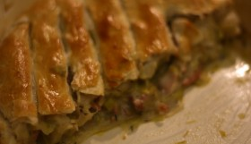 Jamie Oliver's Sweet Leek and Turkey Pie