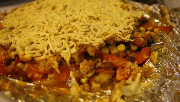 Polenta Tamale Pie
