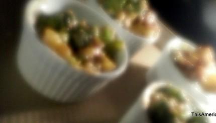Daiya Cheese Baked Broccoli Side Dish