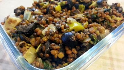 Herb lentil Salad