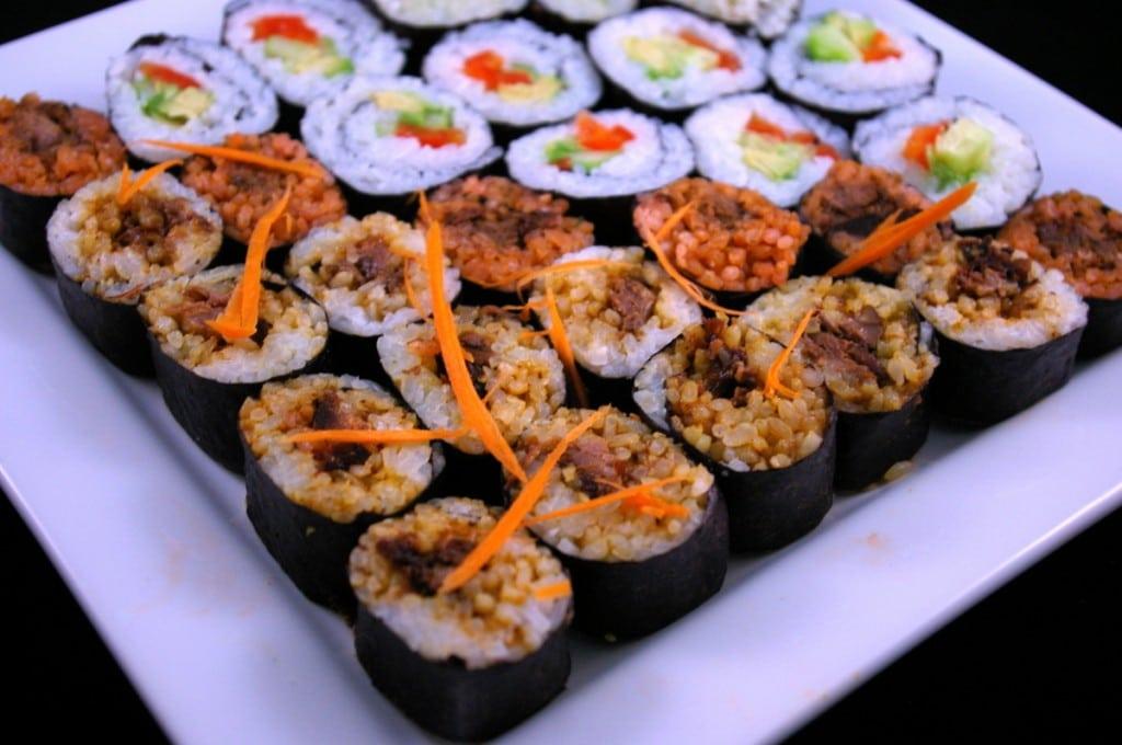 BBQ Beef Sushi