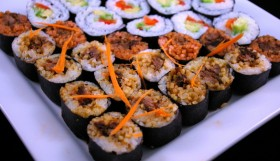 BBQ Beef Sushi