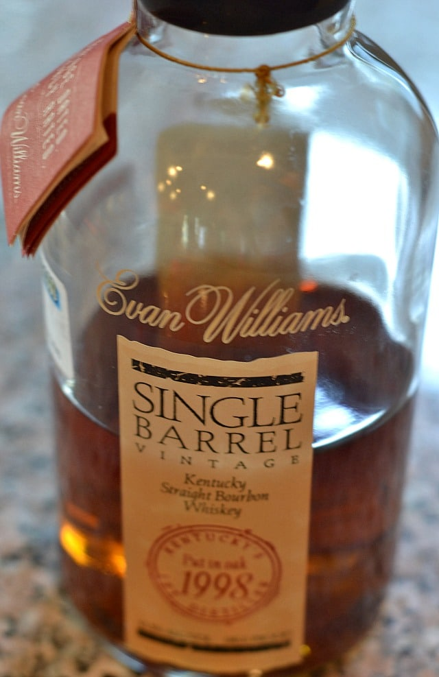Bourbon Marinated Salmon - Evan Williams Single Barrel Vintage