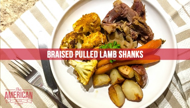 Braised Pulled Lamb Shanks - Perfect for Midnight Munchies