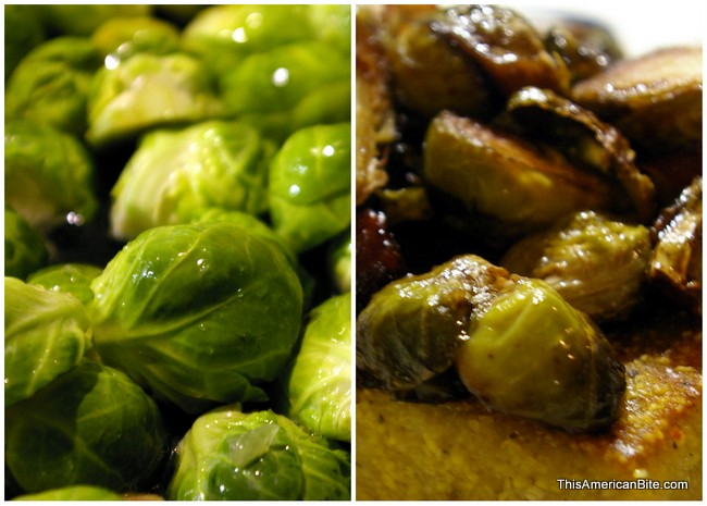 Before and After - Brussels Sprouts