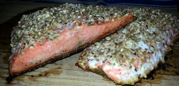 Dukkah Crusted Salmon