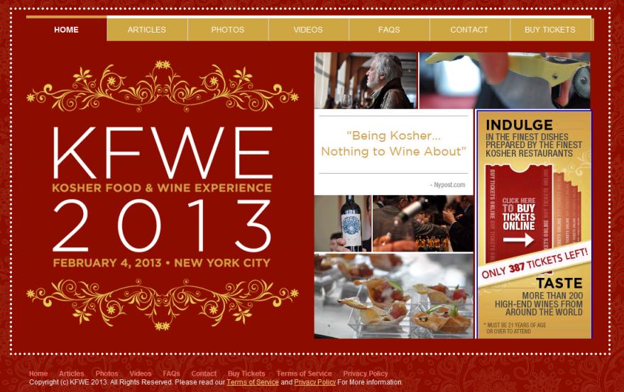 KFWE 2013 Screen