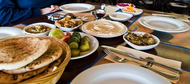 Photo Credit: BBQ Dan Zalazo, Flickr. Israeli Salatim at a Shippudia.