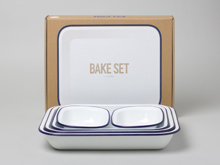 Falcon Blue Bake Set