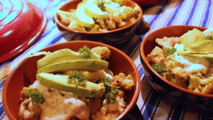 Green Chicken Rice Bowls