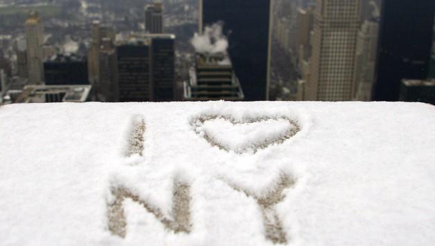 I LOVE NY Snow