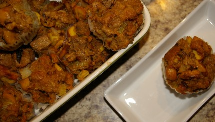 Thanksgiving Stuffing Muffins