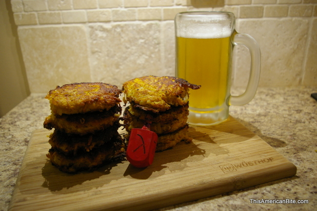 Latkes and Beer