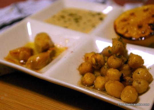 Chickpea Salad Plated