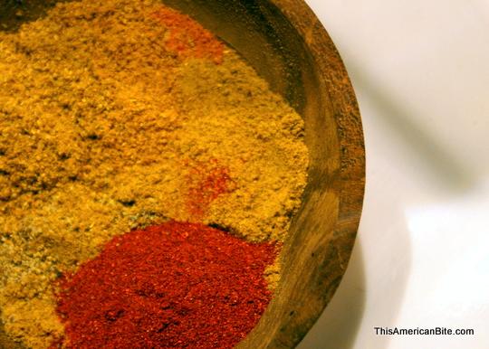 Home made shwarma spice