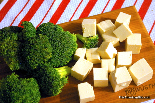 Broccoli and tofu - This American Bite