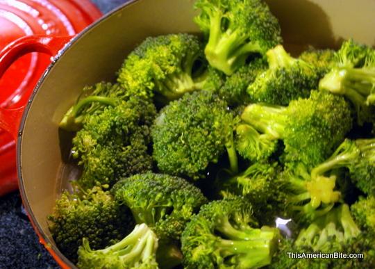 Vegan Cream of Broccoli Soup - This American Bite