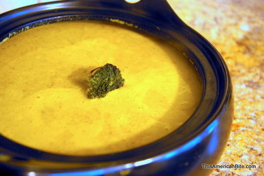 Vegan Cream of Broccoli Soup - This American Bite