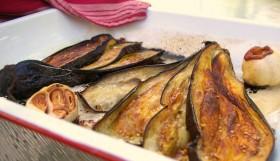 Roasted eggplant photo