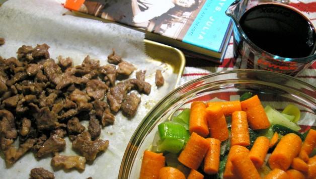 Julia Child's Kosher Beef Bourguignon
