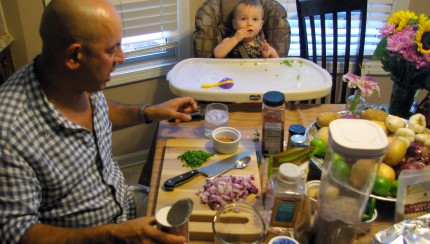 Cooking with Simon Majumdar