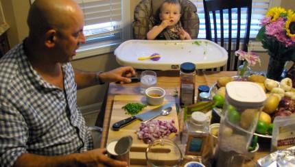 Cooking with Simon Majumdar