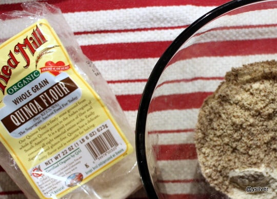 Bobs red mill quinoa flour for gluten free naan