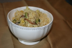 Millet with veggies