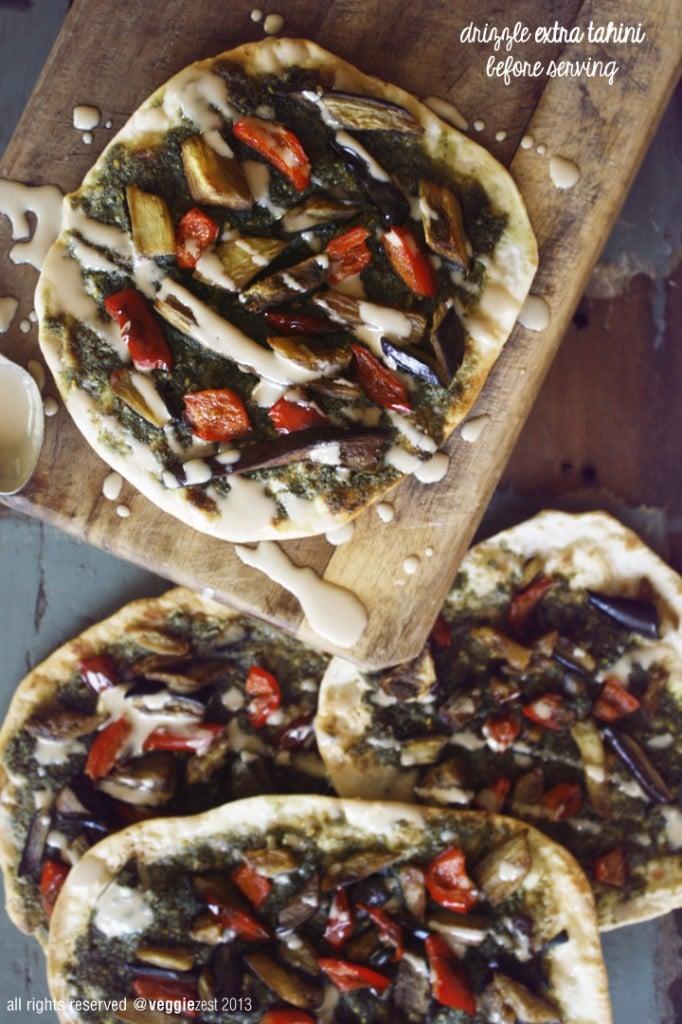 Naan Za'tar Pizza 03