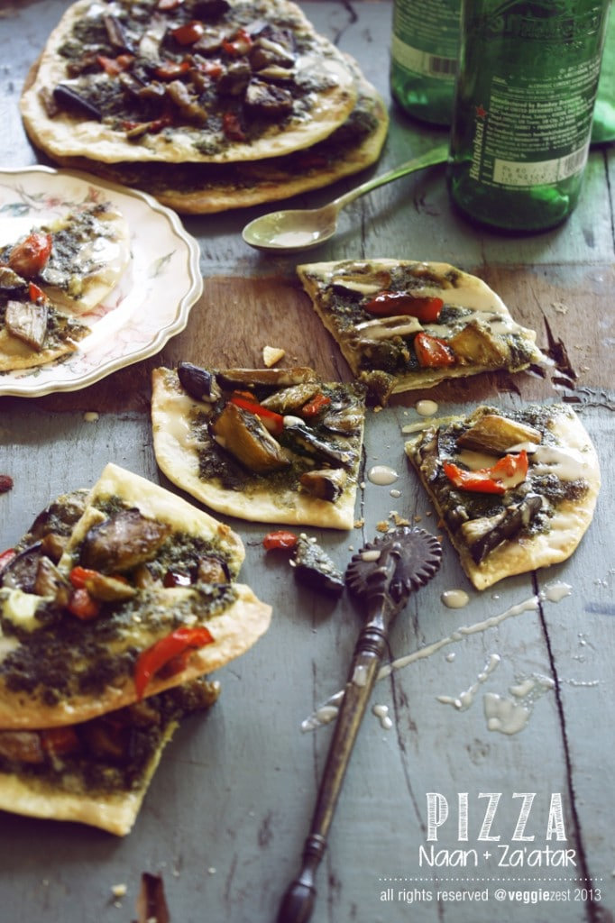 Naan Za'tar Pizza 04