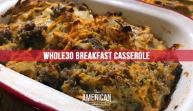 Paleo Whole30 Breakfast Casserole