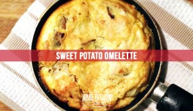 Paleo, Whole30, Sweet Potato Omelette