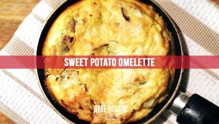Paleo, Whole30, Sweet Potato Omelette