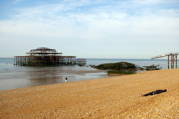The West Pier, Hove, England (Photo from August 2008)