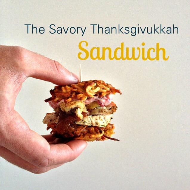 Savory Thanksgivukkah Sandwich