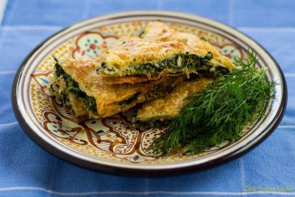 Spinach and Feta Borek (Turkish Spinach Pie) - A Little Ferraro Kitchen