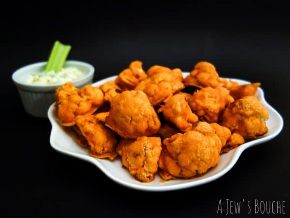 Buffalo Cauliflower - A Jews Bouche