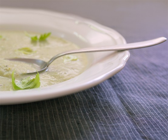 Vegan Celery Bisque by Honest Fare