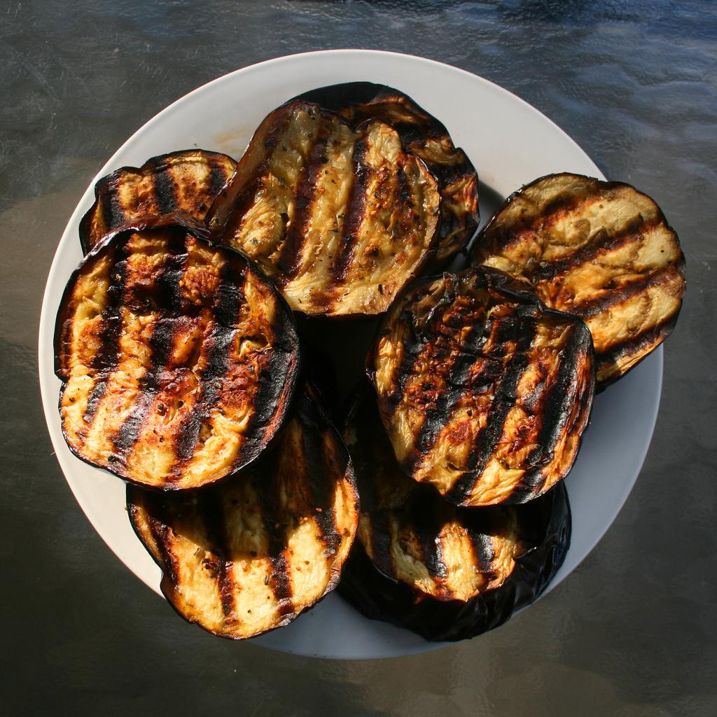 Roasted Eggplant Hummus - This American Bite