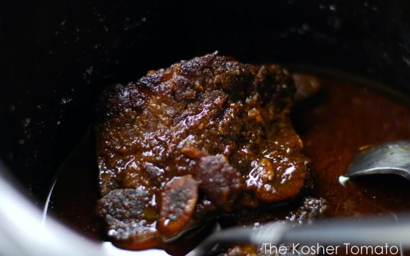 Slow Cooked Flanken Short Ribs - The Kosher Tomato