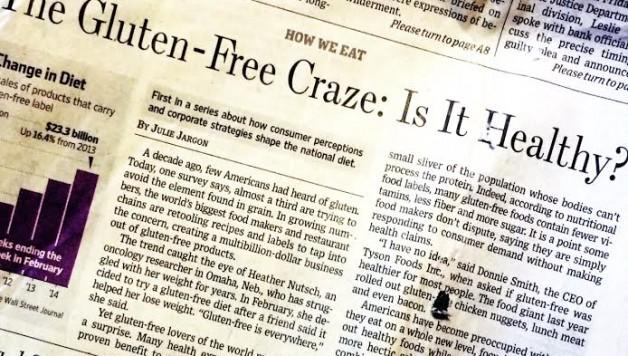 Gluten Free Craze - Wall Street Journal