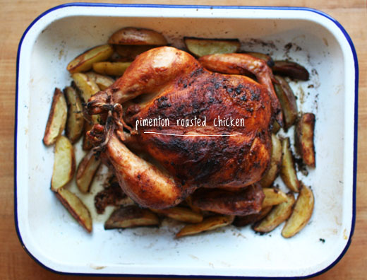 Lottie and Doof's Pimentón Roasted Chicken and Potatoes